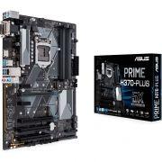 Placa Mae ASUS H370-PLUS ATX (1151) DDR4 - Prime H370-PLUS - 8AGER