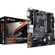 Placa Mae Gigabyte Micro ATX (1151) - DDR4 - B360 Aorus Gaming 3