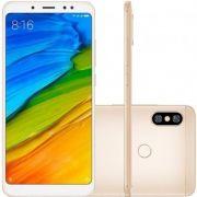 Smartphone Xiaomi Redmi Note 5 64GB Versão Global Desbloqueado Dourado
