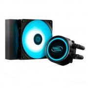 WATER COOLER DEEPCOOL GAMMAXX 120MM ANTI-LEAK L120T BLUE
