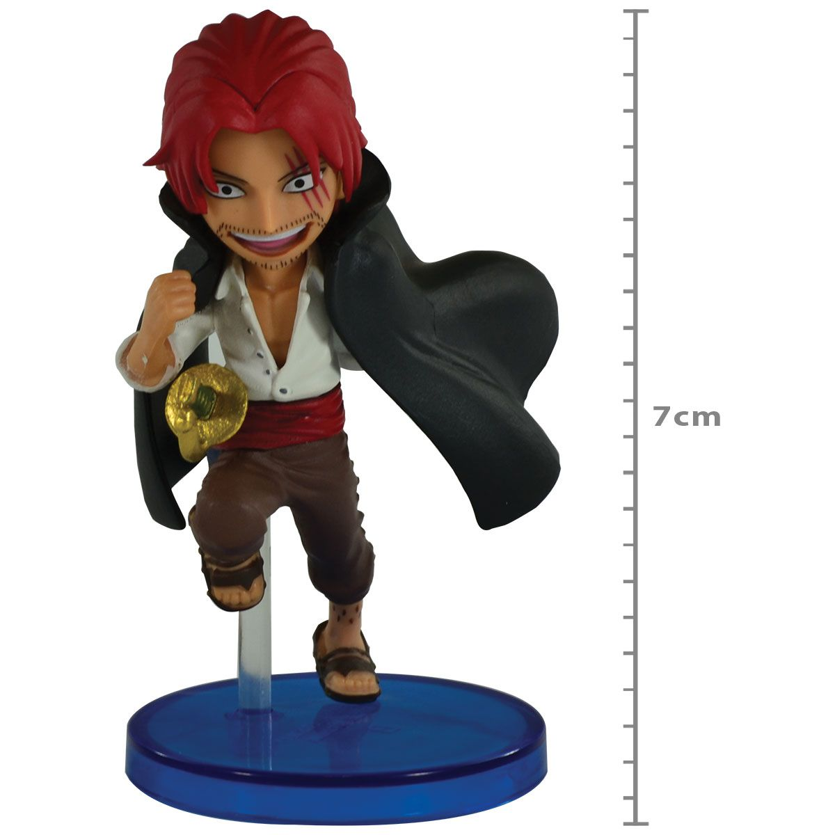 Action Figure ONE Piece - WCF 20TH - SHANKS