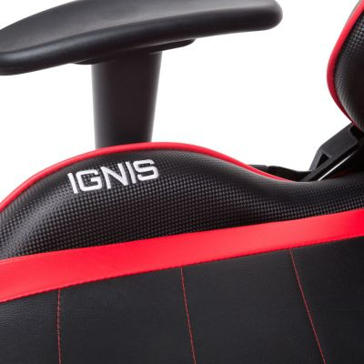 CADEIRA GAMER ELEMENTS GAMING VEDA IGNIS VERMELHA