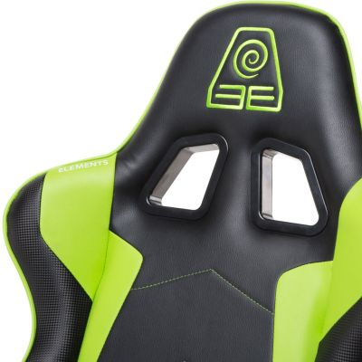 CADEIRA GAMER ELEMENTS GAMING VEDA TERRA VERDE