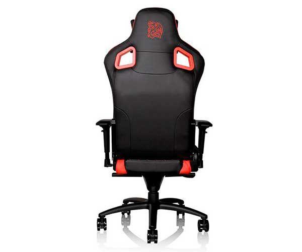 Cadeira Gamer Thermaltake GT FIT GTF100 Preta e Vermelha GC-GTF-BRMFDL-01