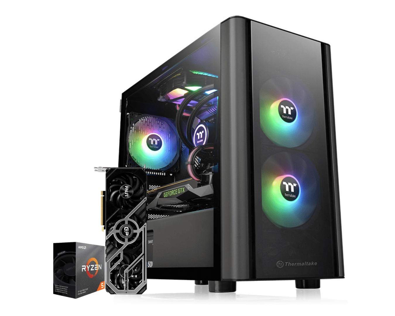 Computador Gamer Amd Ryzen 5 3600 Rtx 3070 TI 8GB Ram 16GB HD 1TB Ssd 240GB