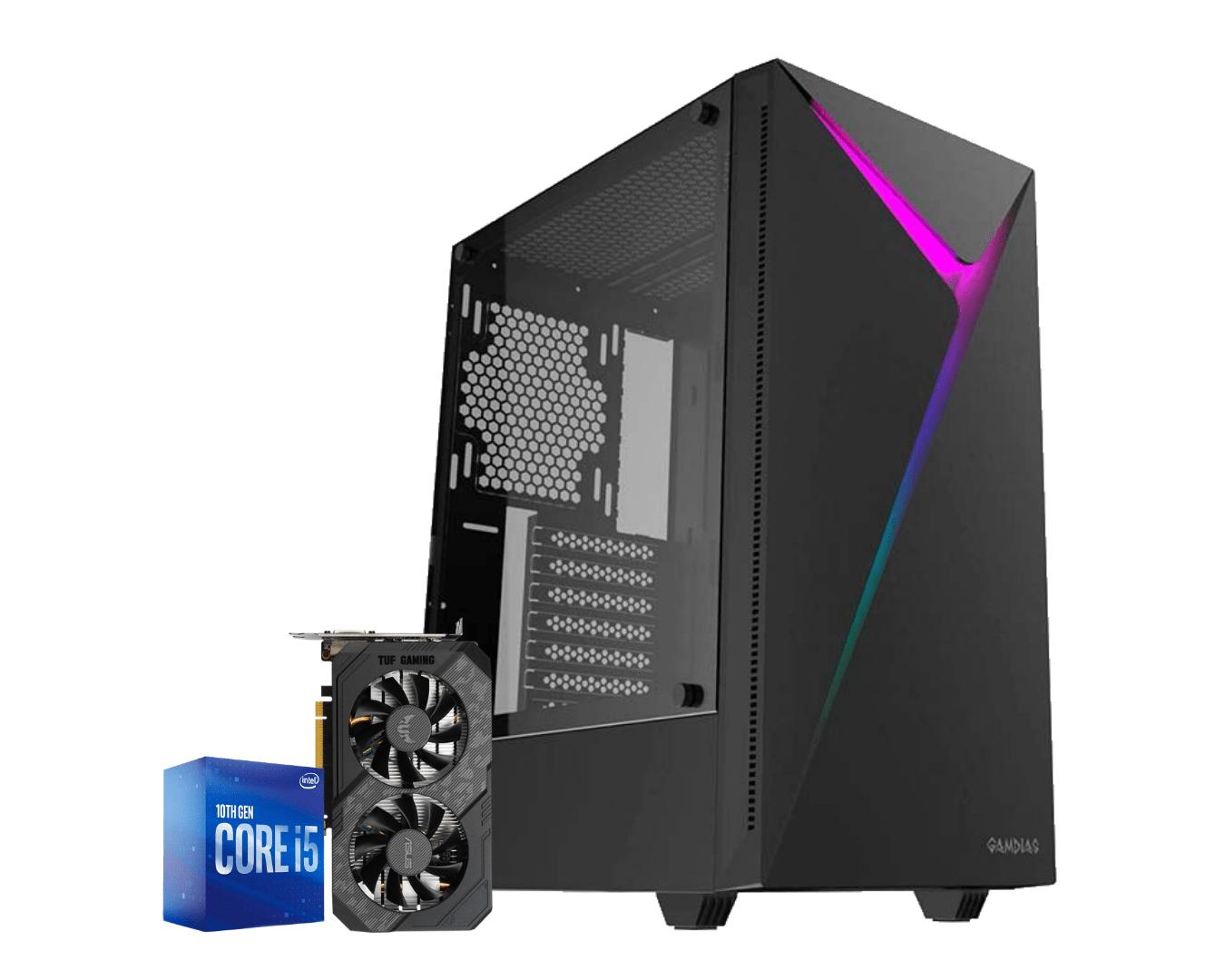 Computador Gamer Intel I5 10400F Gtx 1660 Super 6GB Ram 16GB HD 1TB Ssd 120GB