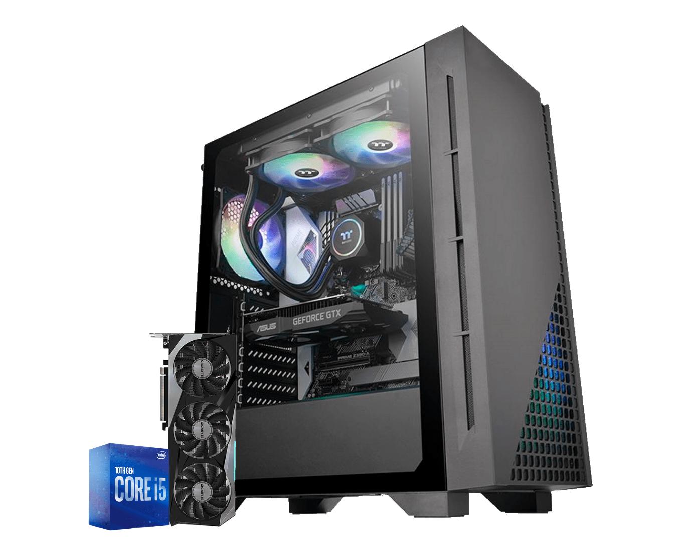 Computador Gamer Intel I5 10400F Rtx 3070 8GB Ram 16GB HD 1TB Ssd 120GB