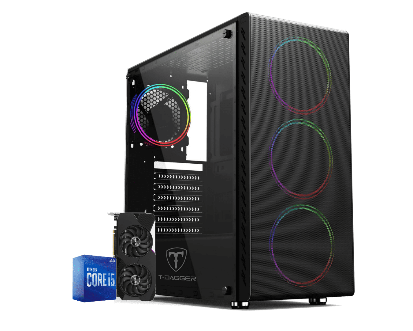 Computador Gamer Intel I5 10400F Rtx 3070 8GB Ram 16GB HD 1TB Ssd 120GB