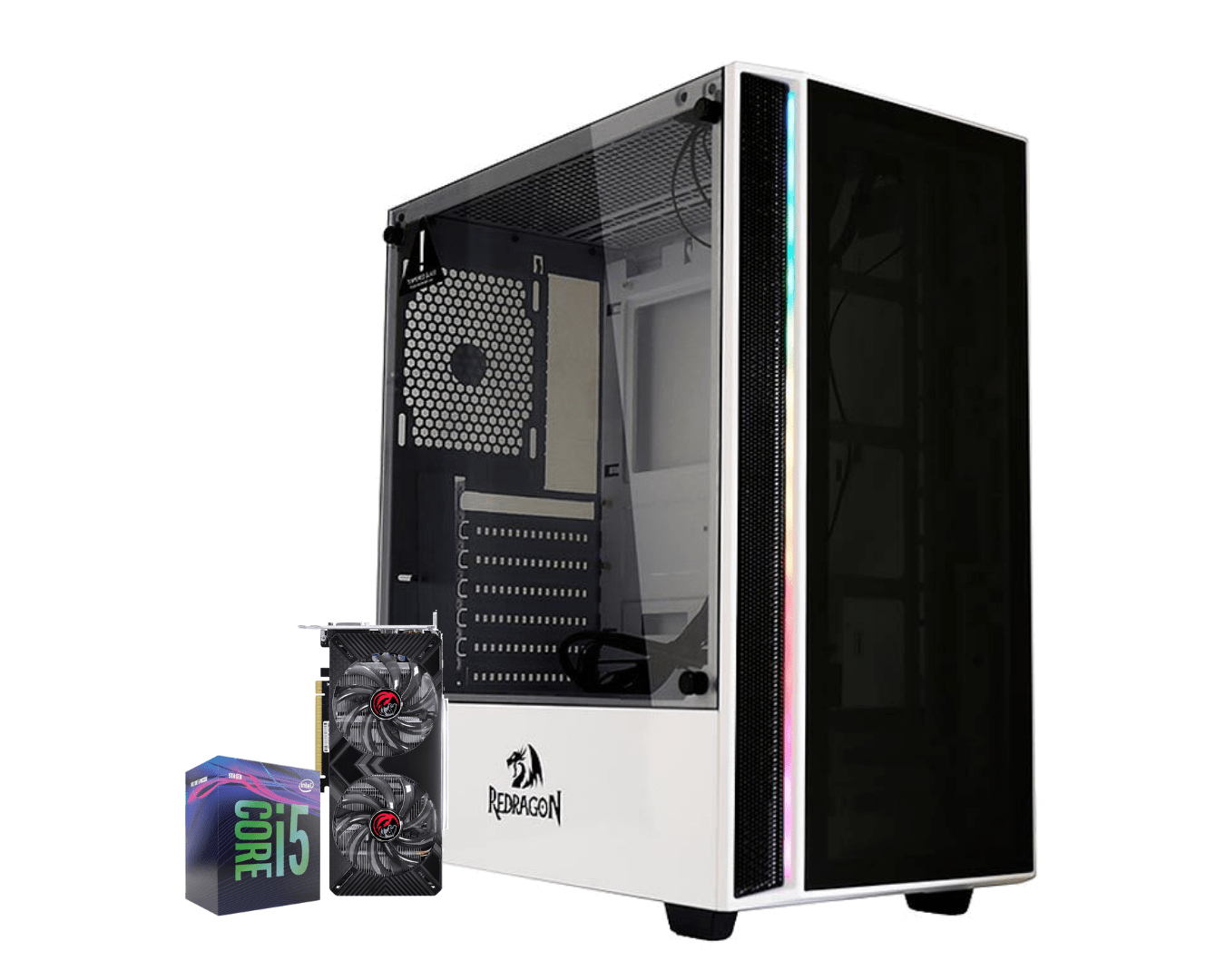 Computador Gamer Intel I5 9400F Gtx 1660 6gb Ram 8gb Hd 1TB Ssd 120gb