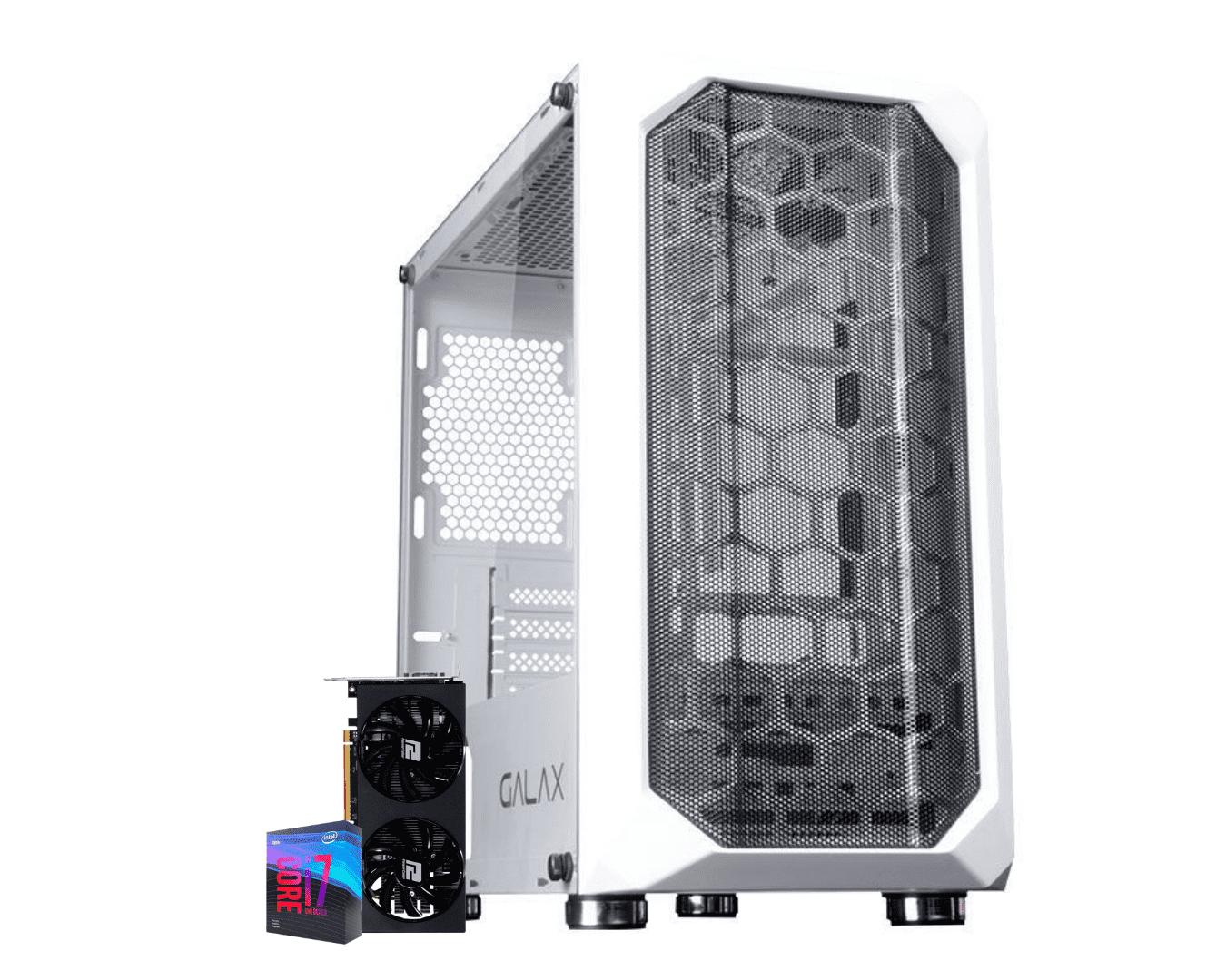 COMPUTADOR VERDANT GAMER, I7 9700K, RADEON RX 5700 XT 8GB, 16GB DDR4, SSD 120GB, HD 1TB, 600W, WATER COOLER 120MM