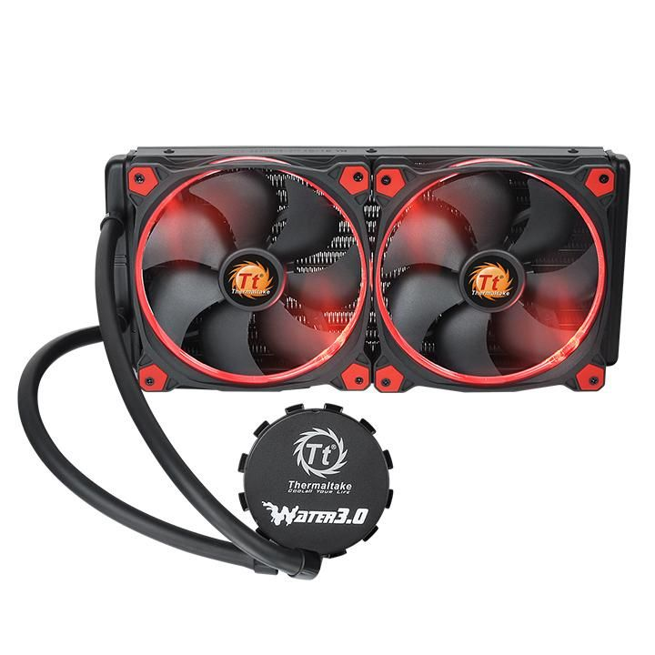 COOLER THERMALTAKE WATER 3.0 RIING RED 280 ALL-IN-ONE LCS CL-W138-PL14RE-A
