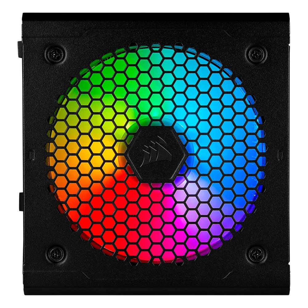 FONTE CORSAIR CX550F RGB FULL MODULAR 80 PLUS BRONZE - CP-9020216-BR