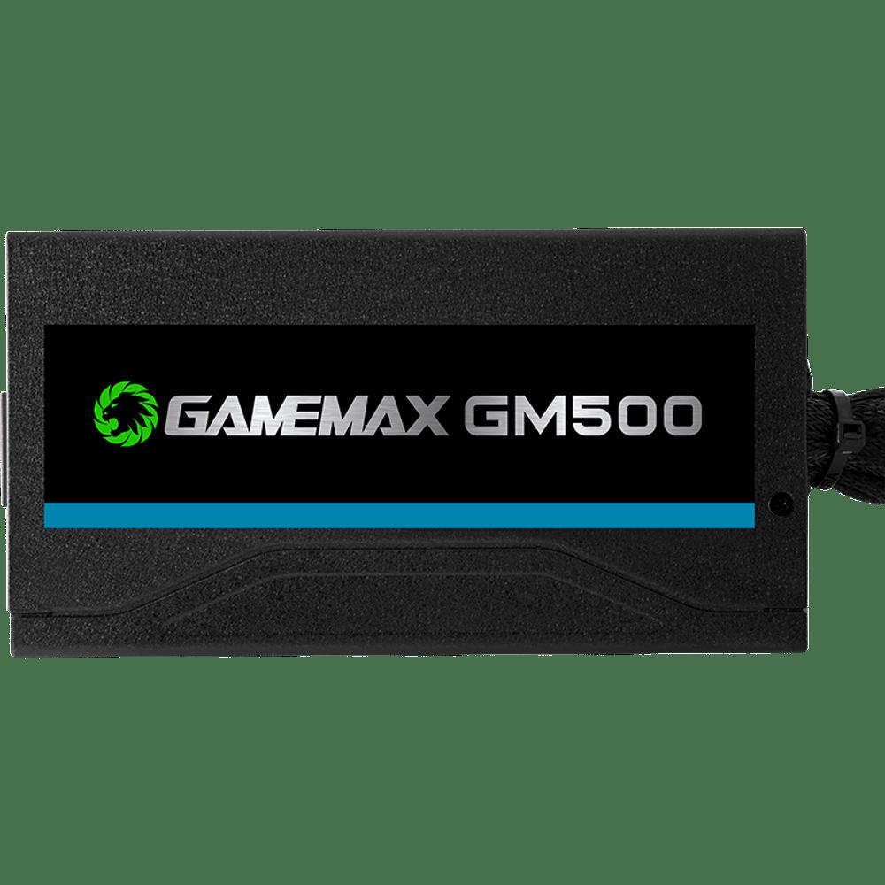 FONTE GAMER GAMEMAX 500W 80 PLUS BRONZE - GM500