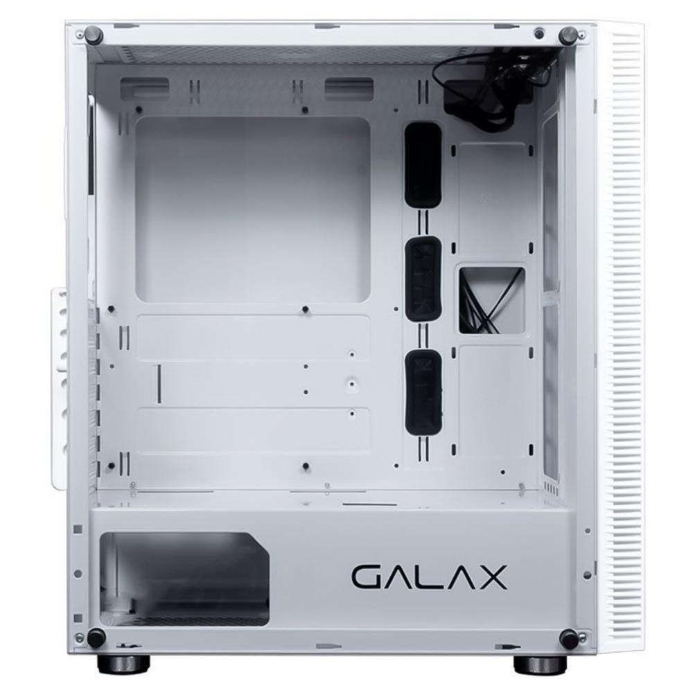 GABINETE GAMER GALAX QUASAR BRANCO RGB - GX600 - WH