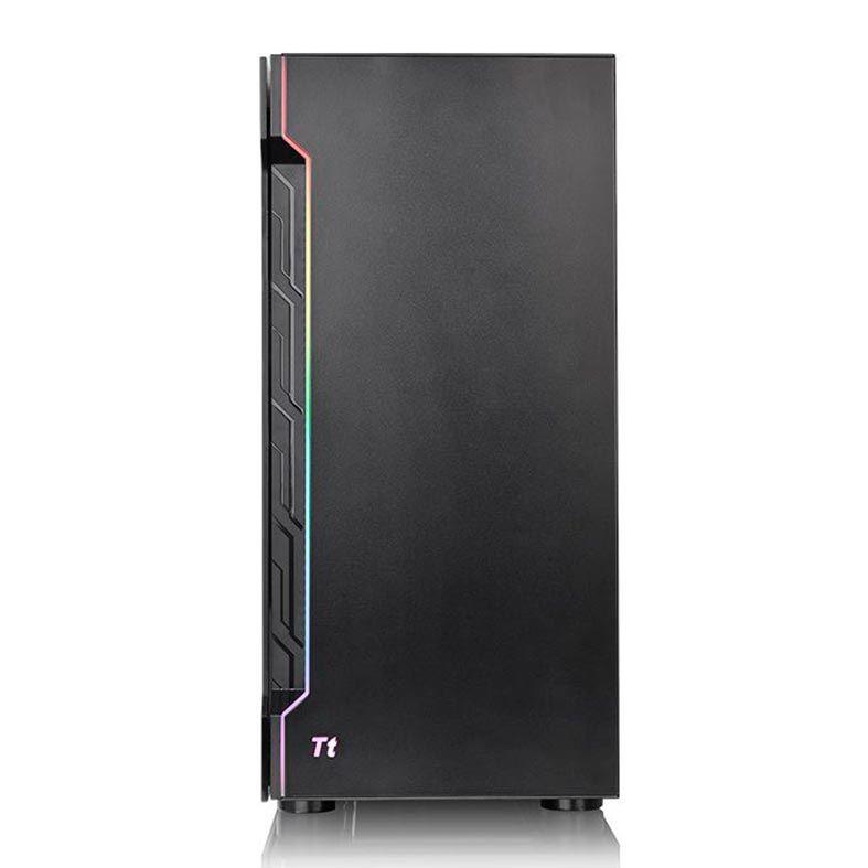 GABINETE GAMER THERMALTAKE H200 TG RGB PRETO - CA-1M3-00M1WN-00