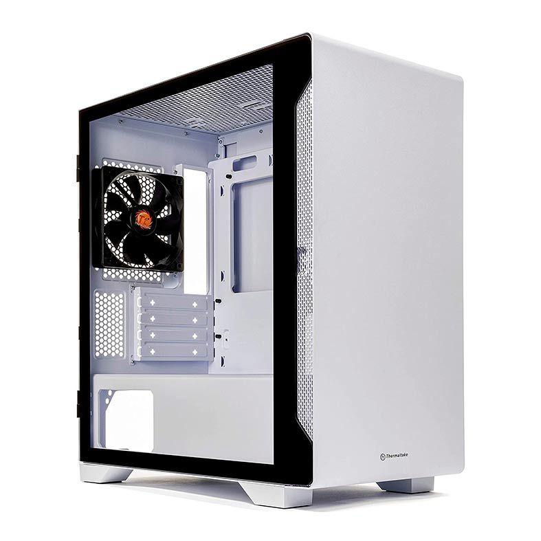 GABINETE GAMER THERMALTAKE S100 TG SNOW EDITION - CA-1Q9-00S6WN-00