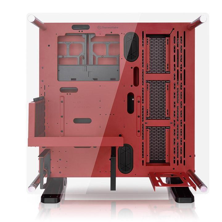 GABINETE THERMALTAKE CORE P3 SE RED/WALL MOUNT/SEM RISER CABLE CA-1G4-00M3WN-01