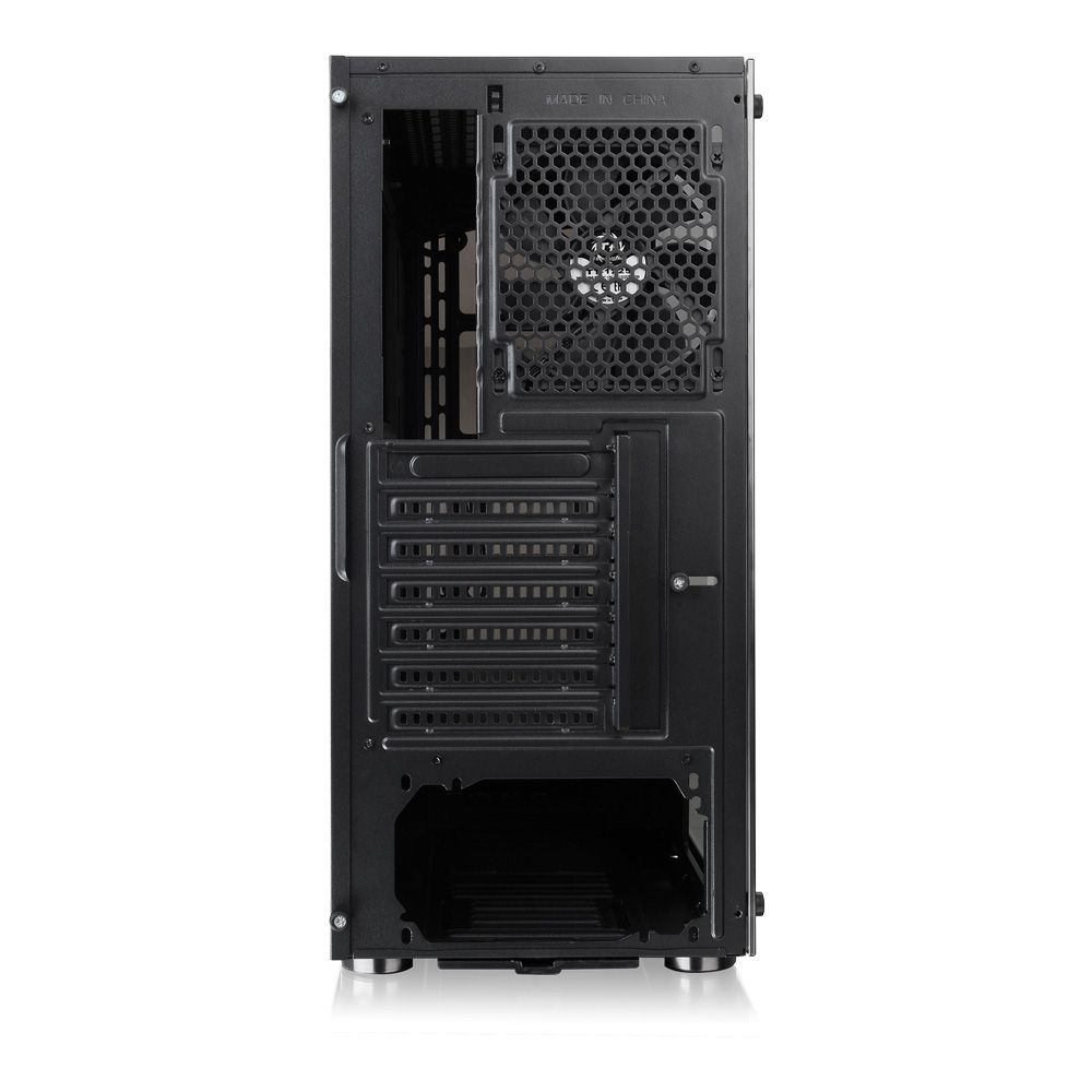 GABINETE TT V200 TG/BLACK/WIN/SPCC/TEMPERED GLASS *1 CA-1K8-00M1WN-00