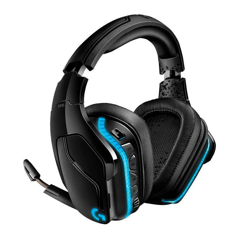 Headset Gamer Logitech G935 Lightsync S/Fio - 981-000742