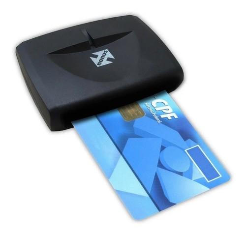 Leitor Smart Card Certificado Digital Nfe Cnpj Oab A3 Cpf