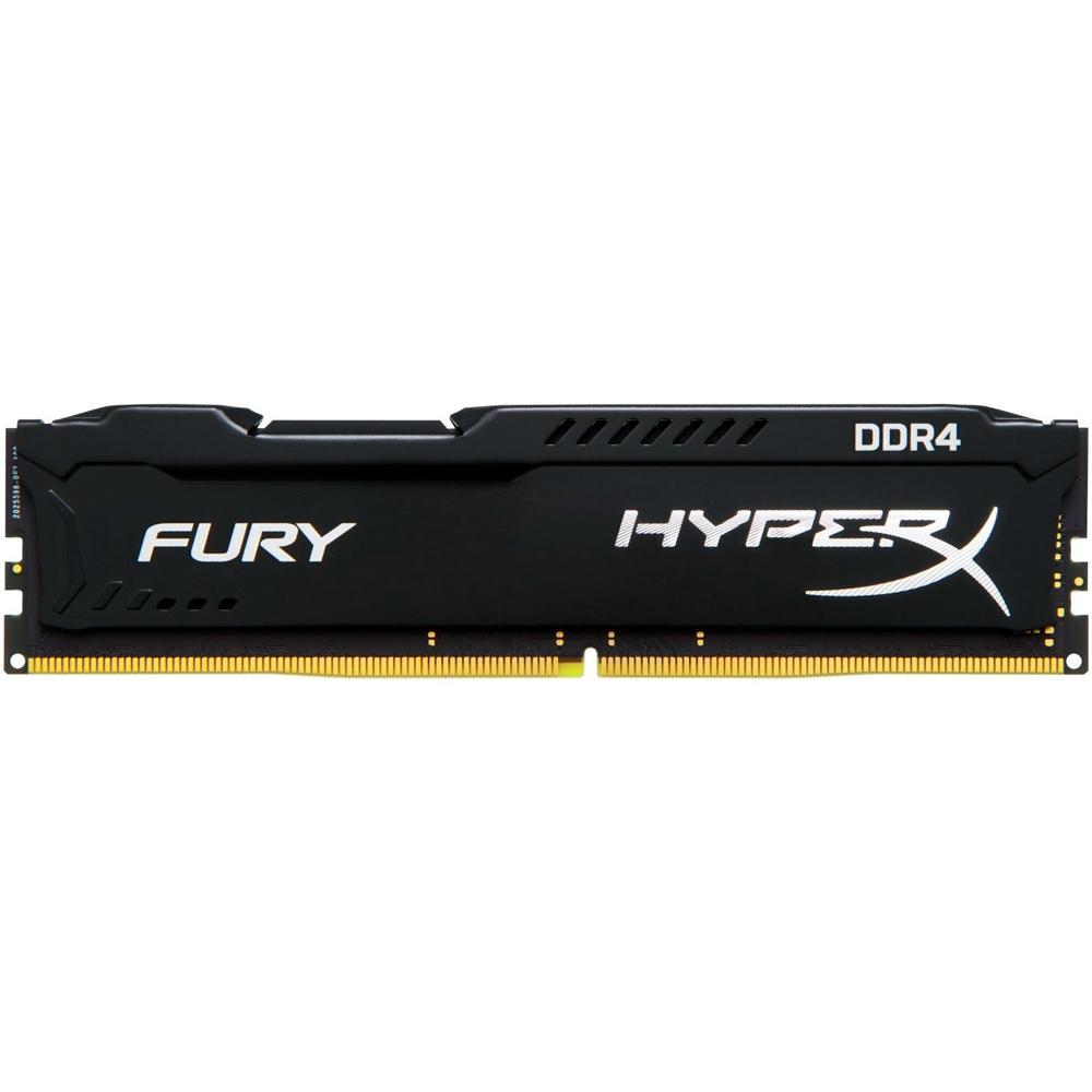 Memória Ram Kingston Hyperx Fury 8GB DDR4 2666MHz - HX426C16FB3/8