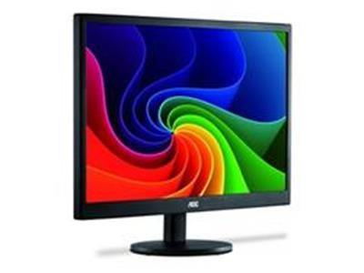 """Monitor 15,6"""" LED AOC - VGA - Vesa - Alimentacao USB E1670SWU/WM"""