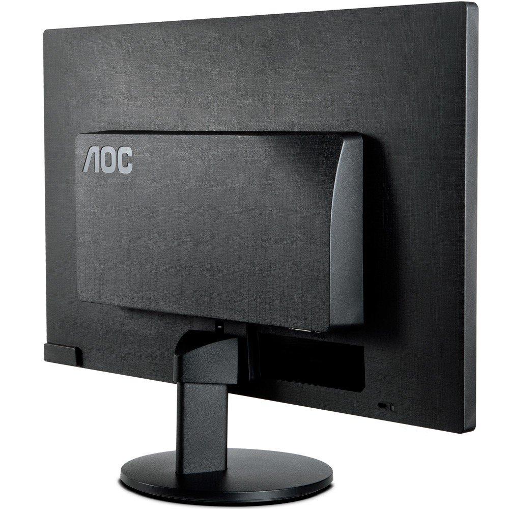 """Monitor 18,5"""" LED AOC - 200 CD/M2 de Brilho - VGA - E970SWNL"""