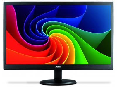 "Monitor 21,5"" LED AOC - 200 CD/M2 de Brilho - FULL HD - VGA - Vesa - E2270SWN"