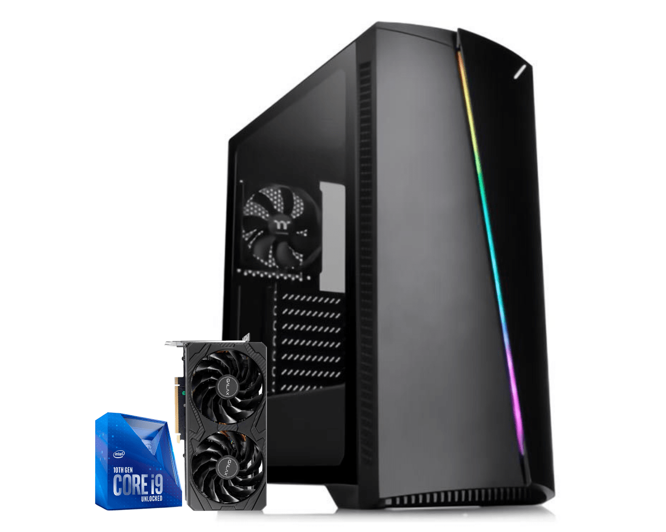 Pc Gamer Intel I9 10900KF Rtx 3070 8GB Ram 16GB Hd 1TB Ssd 240GB