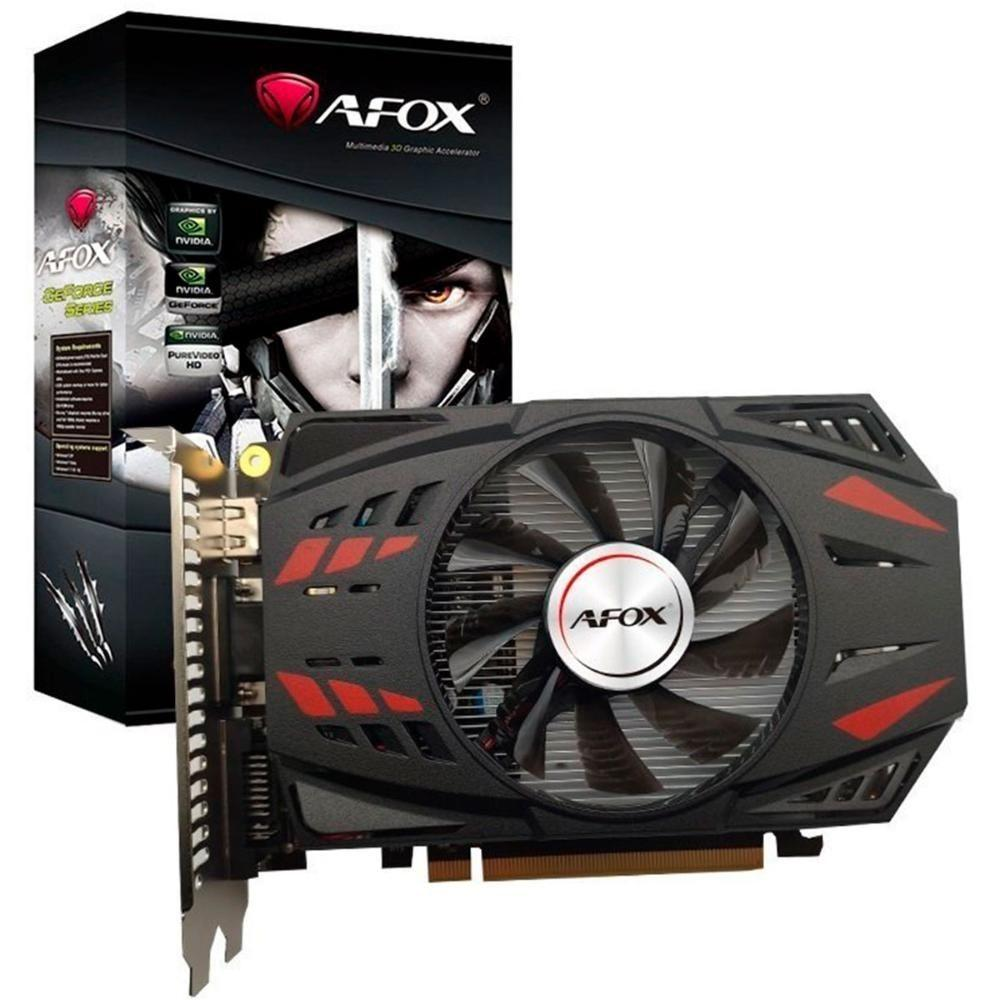 PLACA DE VIDEO AFOX GEFORCE GTX 750 TI 4GB GDDR5 128 BITS - AF750TI-4096D5H4