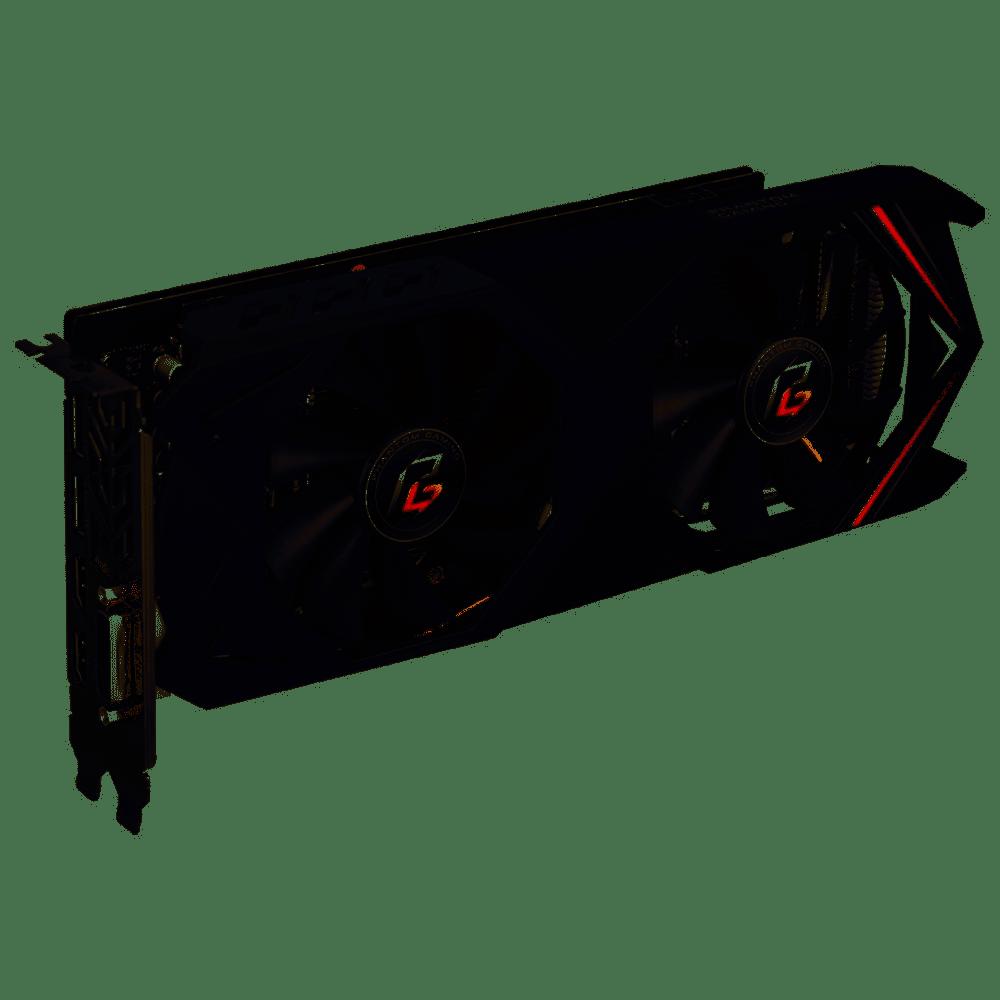 Placa de Video ASROCK Radeon RX 590 OC 8GB Phantom Gaming DDR5 256 BITS - RX 590 8GB OC Phantom Gami