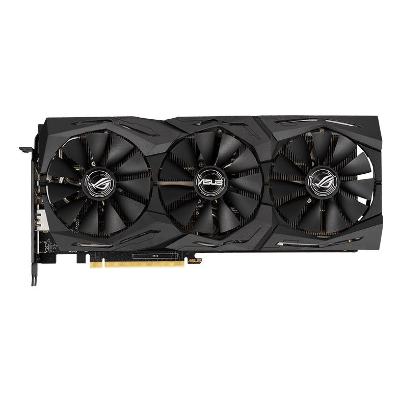 Placa de Video ASUS Geforce RTX 2060 6GB DDR6 192 BITS - ROG-STRIX-RTX2060-A6G-GAMING