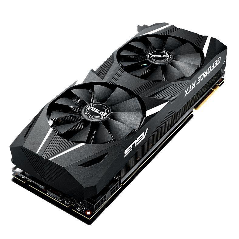 Placa de Video ASUS Geforce RTX 2080-A8G - DUAL-RTX2080-A8G