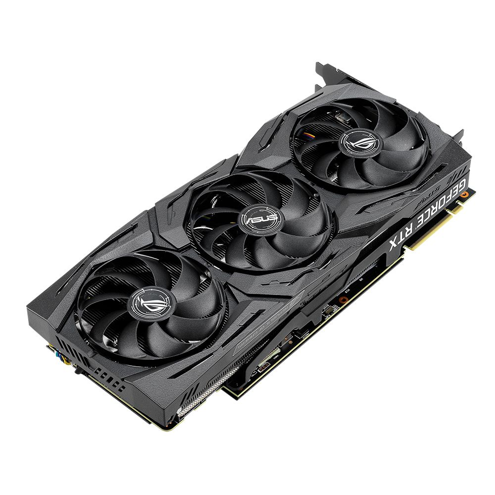 Placa de Video ASUS Geforce RTX 2080 OC 8GB DDR6 256 BITS - ROG-STRIX-RTX2080-O8G-GAMING