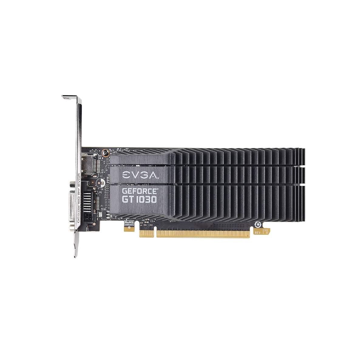 Placa de Video EVGA Geforce GT 1030 SC 2GB DDR5 64 BITS - 02G-P4-6332-KR