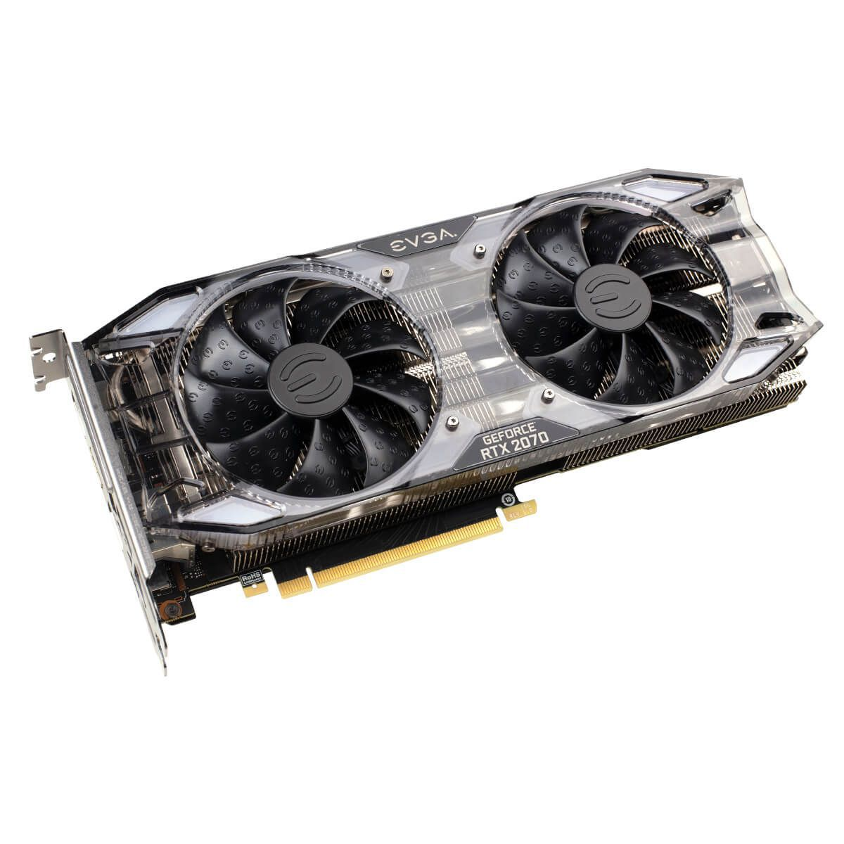 PLACA DE VIDEO EVGA NVIDIA GEFORCE RTX 2070 XC GAMING - 08G-P4-2172-KR