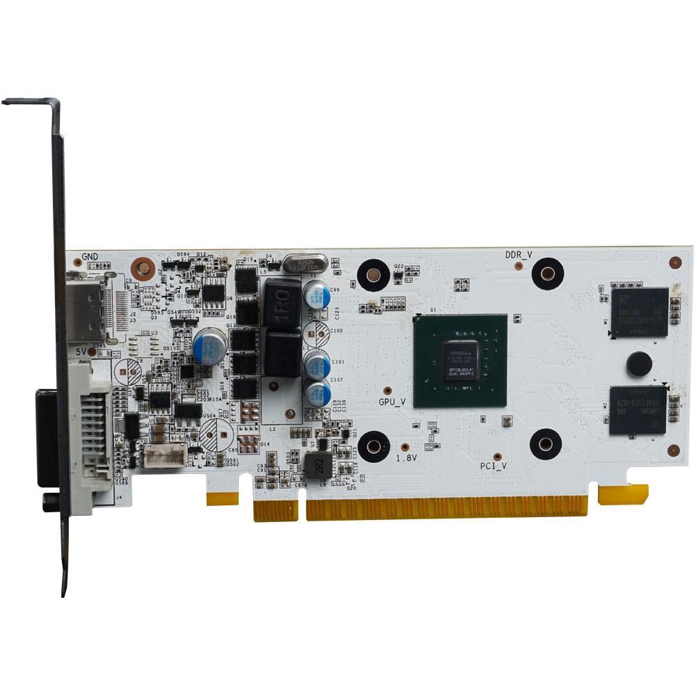 Placa de Video Galax Geforce GT 1030 2GB EXOC White DDR5 64BITS - 30NPH4HVQ5EW