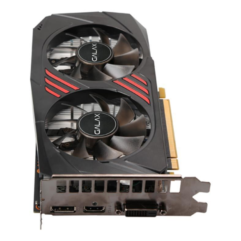 Placa de Video Galax Geforce GTX 1060 OC Redblack 6GB DDR5X 192 BITS - 60NRJ7DSX1PO