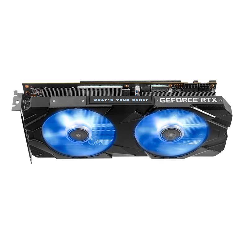 Placa de Video Galax Geforce RTX 2060 Super EX 1 CLICK OC 8GB DDR6 256BITS - 26ISL6MPX2EX
