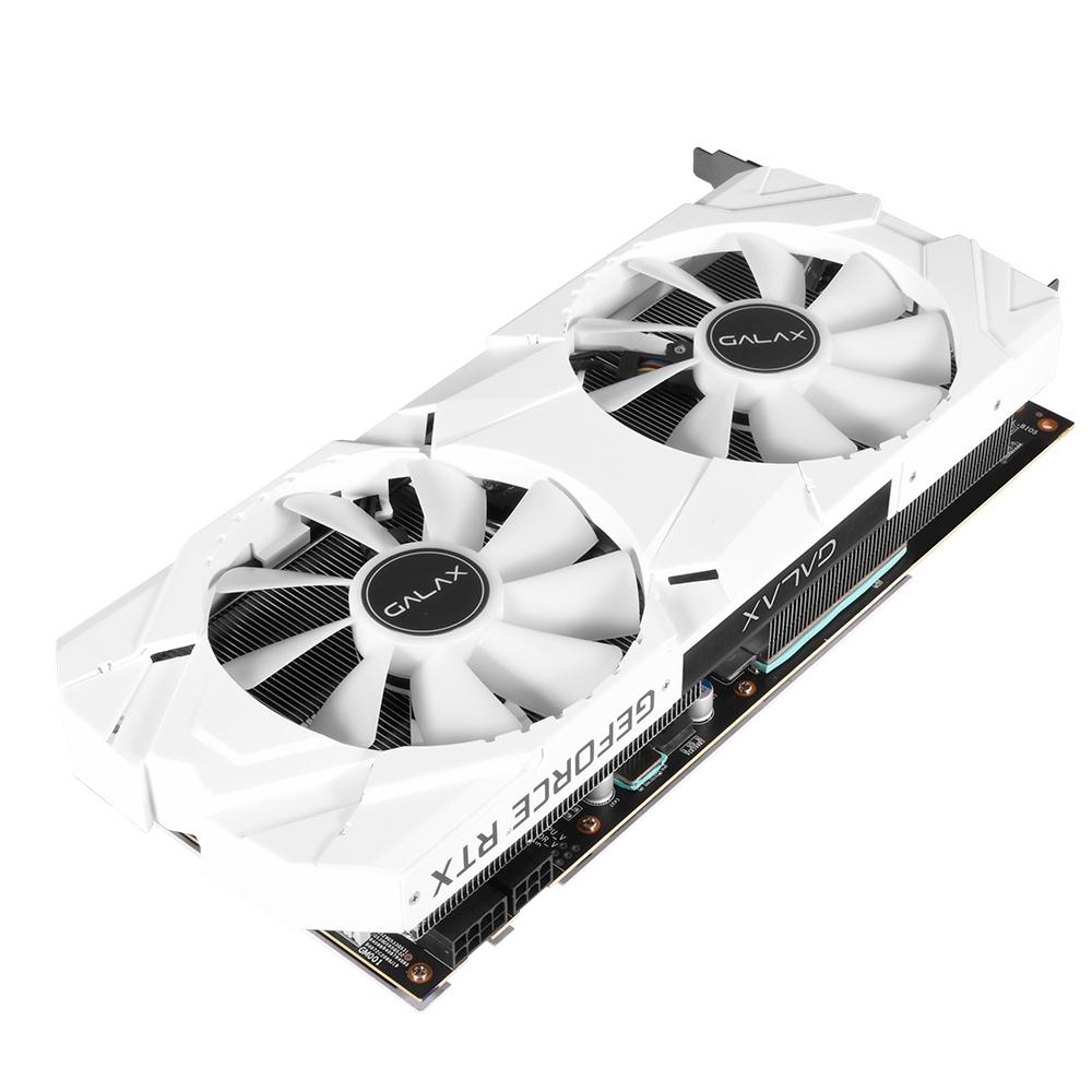Placa de Video Galax Geforce RTX 2070 EX White 1 CLICK OC 8GB DDR6 256BITS - 27NSL6MPX6VW