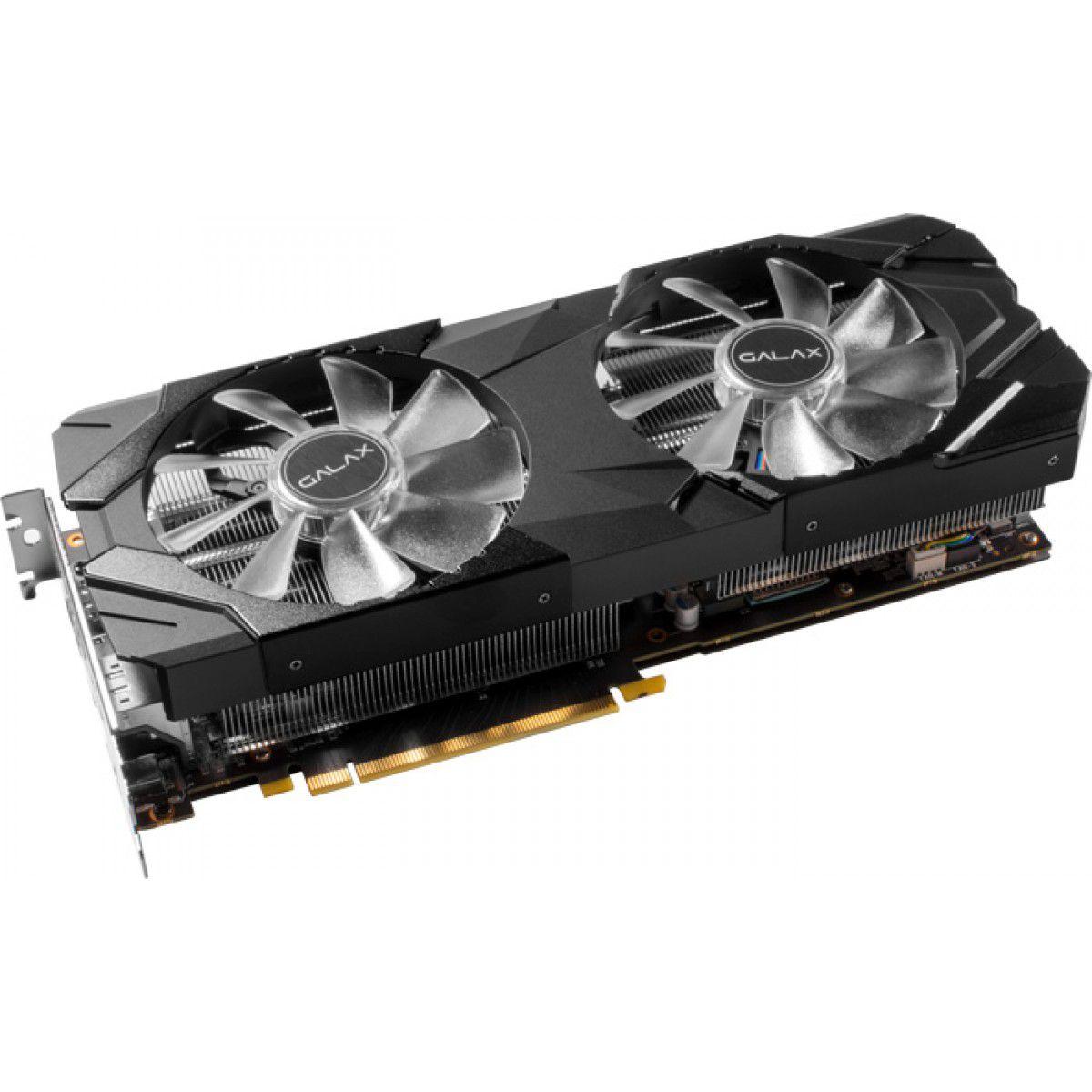Placa de Video Galax Geforce RTX 2070 Super EX 1 CLICK OC 8GB DDR6 - 256BITS - 27ISL6MDU9EX