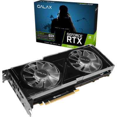Placa de Video Galax Geforce RTX 2080 TI OC 11GB DDR6 352 BITS - 28IULBUCT4OC