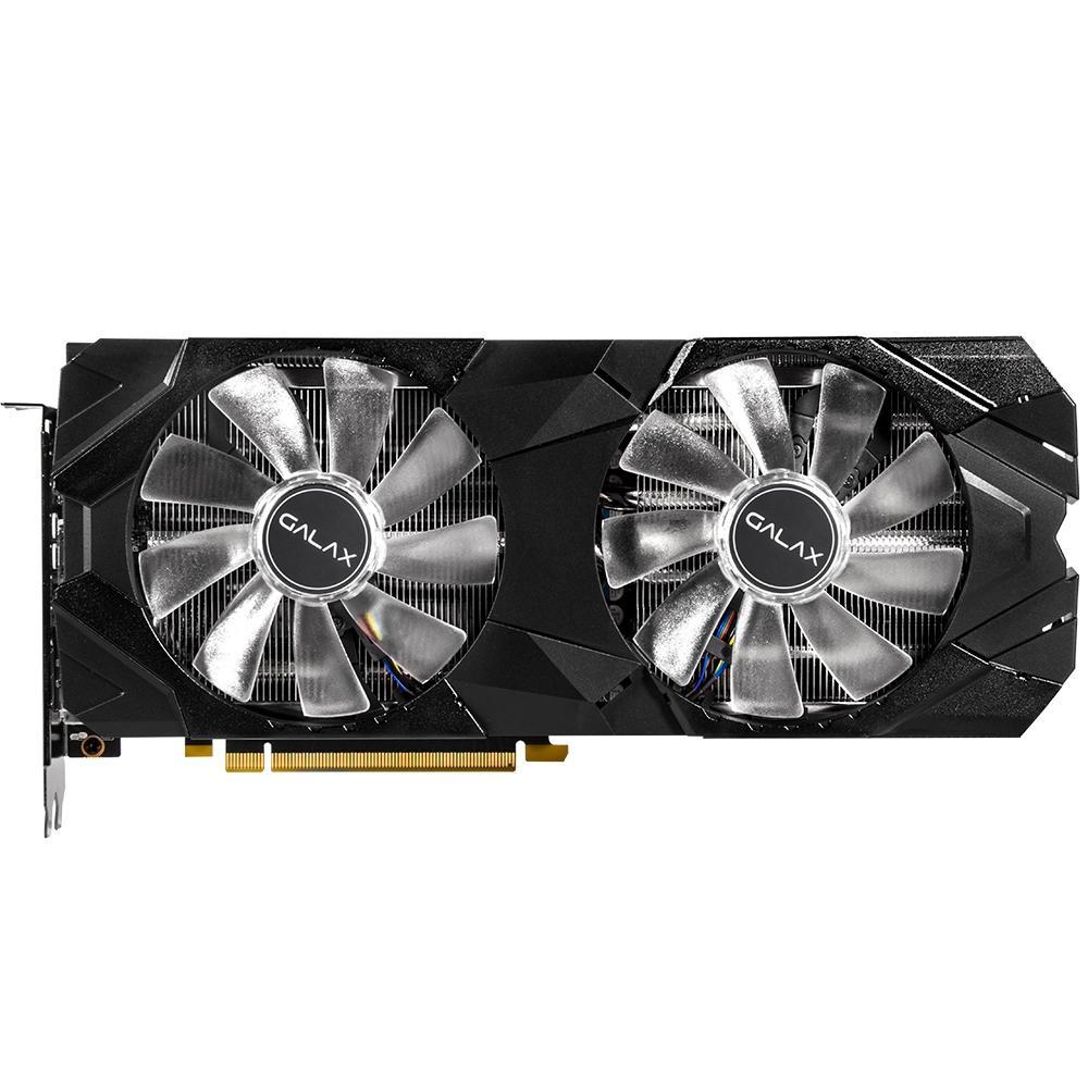 Placa de Video Geforce Galax RTX 2080 8GB EX 1CLICK OC G6 -  28NSL6UCU9EN