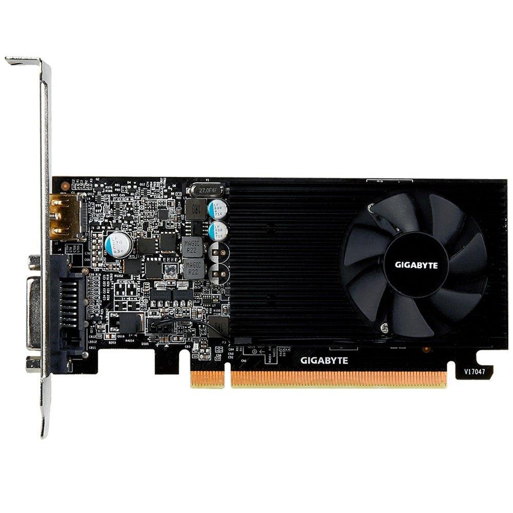 Placa de Video Gigabyte Geforce GT 1030 LP 2GB DDR5 64 BITS - GV-N1030D5-2GL