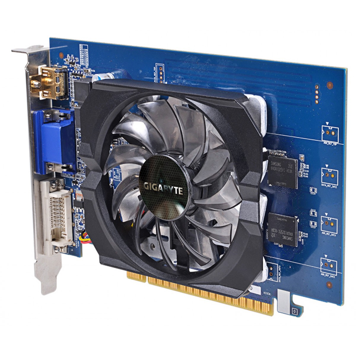 PLACA DE VÍDEO GIGABYTE GEFORCE GT 730 2GB GDDR5 64 BITS - GV-N730D5-2GI