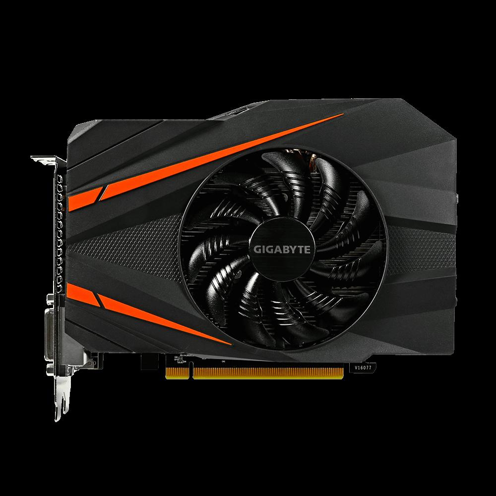 Placade Video Gigabyte Geforce GTX 1060 Mini ITX OC 3G DDR5 192 BITS - GV-N1060IXOC-3GD