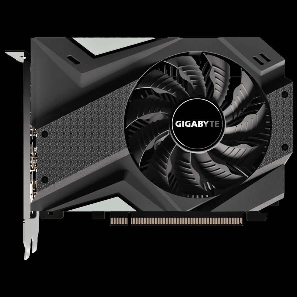 Placa de Video Gigabyte Geforce GTX 1650 Mini ITX OC 4G - GV-N1650IXOC-4GD