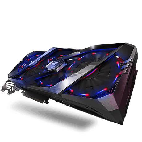 Placa de Video Gigabyte Geforce RTX 2070 GC 8GB DDR6 256 BITS - GV-N2070AORUS - 8GC