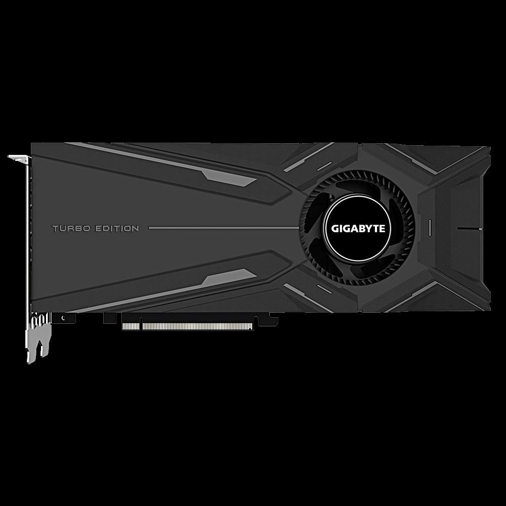 Placa de Vídeo Gigabyte Geforce RTX 2080 8GB DDR6 - GV-N2080TURBO-8GC
