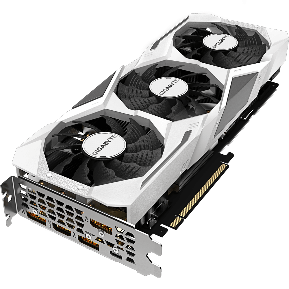 Placa de Vídeo Gigabyte Geforce RTX 2080 8GB Gaming OC White GV-N2080GAMINGOCWHITE-8GC